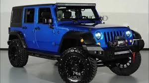 jeep wrangler grey blue customized 3