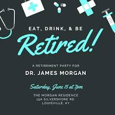 Invitation Template For Word Interesting Retirement Party Invitation Template Doctor Free Templates For Word