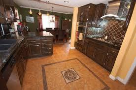 Wonderful Ceramic Tiles For Kitchen Floors Shocking Red Tile Backsplash