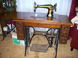 Treadle Sewing Machine Cabinet Magpie Makery The Mystery Of The Missing Singer Skeleton Key