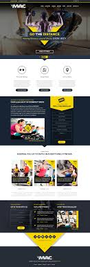 gym website design fitness website design thepixel