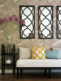 decorating with mirrors reflects your cutting edge style