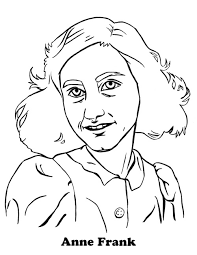 Kinderpleinen Anne Frank Kleurplaten