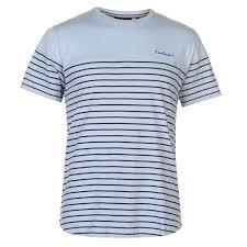 Pierre Cardin Polo Shirt Size Chart Pierre Cardin Dropped Hem Striped Tee Mens