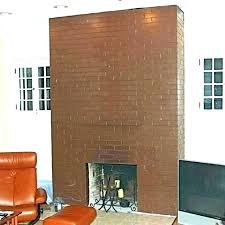 replace brick fireplace remove paint from brick fireplace removing paint from brick fireplace remove fireplace mantel