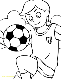 Soccer Coloring Pages Free 1008909 Attachment Lezincnyccom