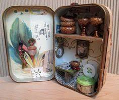Fairy House Altoid Tin idea: | Идеи для поделок, Коробочки и ...