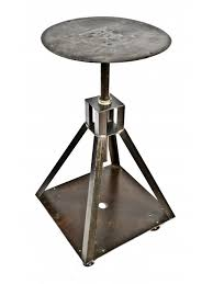 vintage steel furniture. fine furniture 1940u0027s vintage american industrial custombuilt heavy gauge steel mobile  platform cart or intended vintage steel furniture