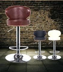 stunning cowhide bar stools cowhide bar stools modern genuine leather natural cowhide bar stool brown or