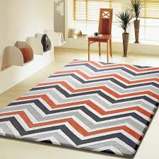 contemporary modern grey with orange indoor area rug intended for and gray inspirations 2