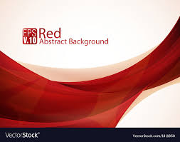 red abstract background vector. Red Abstract Background Vector Image Intended