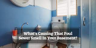 what s causing that foul sewer smell in