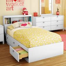 Sparkling Bookcase Storage Platform Bed Hayneedle