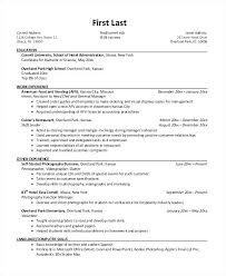 Sample Resume Format For Hotel Industry Resume Format For Hospitality Industry Concierge Resume Template 3