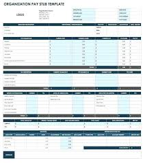 Blank Pay Stub Template Word Free Templates For Excel And Choose