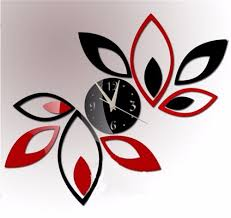 flower art modern luxury design diy removable 3d crystal mirror wall clock wall sticker living room bedroom decor in wall clocks from home garden on  on wall clock art design with flower art modern luxury design diy removable 3d crystal mirror wall