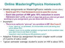 physics v kocharovsky ppt video online  online masteringphysics homework