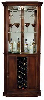 Detailed image of the Howard Miller Piedmont 690-000 Corner Wine Cabinet ...