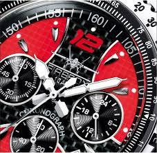 firefoxuhren racer stainless steel chronograph men s wristwatch 10 firefoxuhren racer stainless steel chronograph men s wristwatch 10 atm black and red