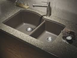 Taps Double For Top Oliveri Sinks Granite Mount And Bowl Clips