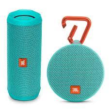 waterproof bluetooth speakers. jbl flip 4 portable waterproof bluetooth speaker and clip 2 speakers