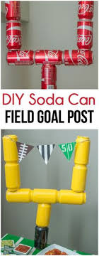 Homemade Super Bowl Decorations Super Bowl Party Ideas Super bowl party Themed birthday parties 19