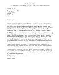 Coaching Resume Cover Letter Sample Cover Letters For Internship ...