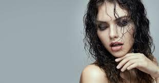 účinok Mokrých Vlasov Mokré Vlasy A účesy