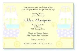 Office Baby Shower Invite Twin Baby Shower Invitations Advanco Info