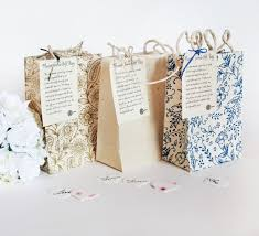 Biodegradable Paper With Flower Seeds Handmade Seeded Paper Gift Bags Small Party Gift Bags Gifts