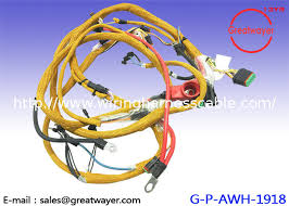 komatsu pc 400 excavator industrial wire harness pet shielding