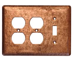 3 gang duplextoggle copper switch plate cover copper light switch plates65