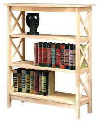 unfinished bookcase kits od bookcase kits unfinished bookcases bare solid with x side pattern furniture bookcase