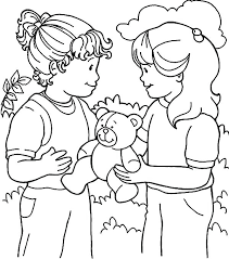 Kindness Coloring Pages 857 With Kindness Coloring Page Magnificent