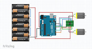 fritzing project working with l298n dc motor driver Drok L298n V3 Wiring Diagram fritzing repo projects w working with l298n dc