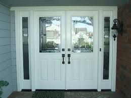 double front door with sidelights. Double Front Entry Doors With Sidelights Door Glass . T