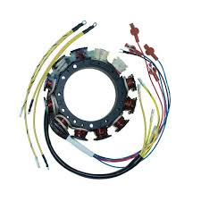 stators marine engine parts fishing tackle basic power stator for mercury mariner 40 amp 105 275 v6 hp 1989 00 398