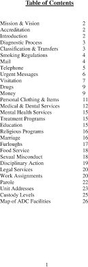 west tennessee state penitentiary visitation form guide for family and friends arkansas department of correction pdf