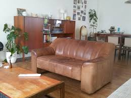 Two Seater Sofa Living Room Vintage Model Ds 44 Two Seater Sofa From De Sede For Sale At Pamono