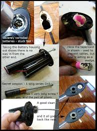 guitar technical services archive jan 2012 to dec 2012 tales 2012 pic battery stuck in a taylor acoustic
