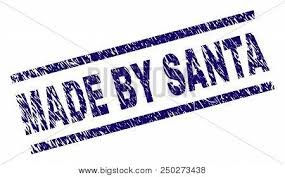 Santa Watermark Made By Santa Stamp Vector Photo Free Trial Bigstock