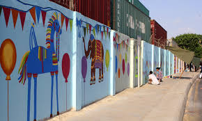 On The Wall Painting In Karachi When Hate On The Wall Disappears Pakistan Dawncom