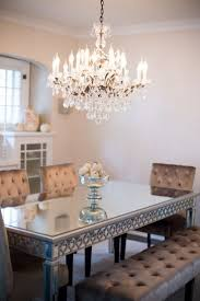 Mirror Dining Room Tables 1000 Ideas About Dining Room Mirrors On Pinterest Frameless