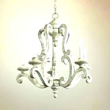 distressed wood chandelier white washed creative co op chandeliers for ideas globe