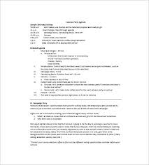 office agenda 10 party agenda templates free downloadable samples examples and