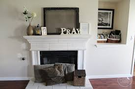 Living Room Mantel Decorating Good Picture Of Living Room Design And Decoration Using Small