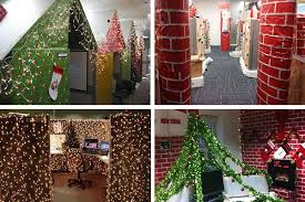 office xmas decorations. PICTURES: The Most Brilliantly Over Top Office Christmas Decorations Https://t Xmas
