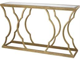gold console table. Dimond Home 60 X 15 Rectangular Metal Cloud Antique Gold Console Table LuxeDecor