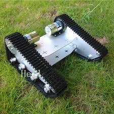 tank car chassis robot crawler creeper