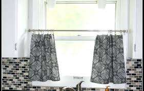 red gingham kitchen curtains long length tan country valances check